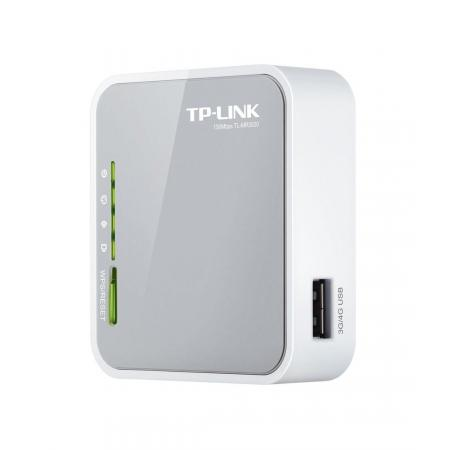 Wifi router - TP-Link - TL-MR3020 - Grijs